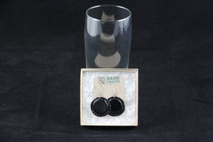 Bottle Cap Dangle Earrings