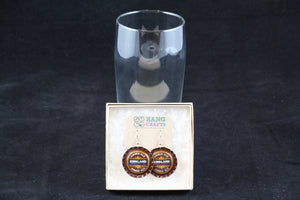 Kirkland Dangle Bottle Cap Earrings