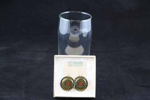 Magic Hat Brewing Company Dangle Bottle Cap Earrings