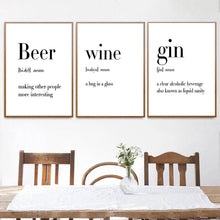 Load image into Gallery viewer, Defining Beer, Wine, Vodka, and Gin