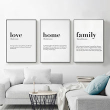 Load image into Gallery viewer, Defining Love, Home, and Family