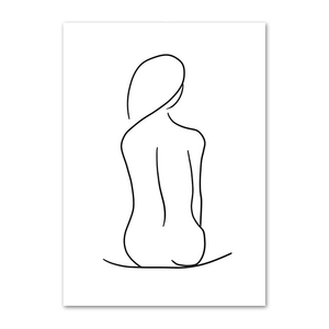 Abstract Body Outlines