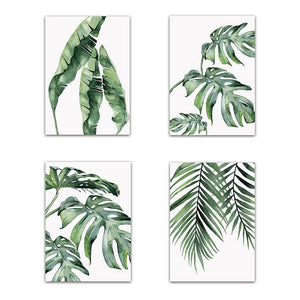 Watercolor Tropicals