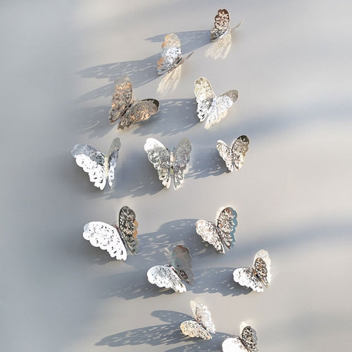 Butterfly Bliss - Silver Edition - 12 piece set