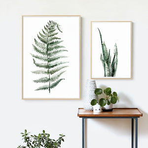 Watercolor Greenery