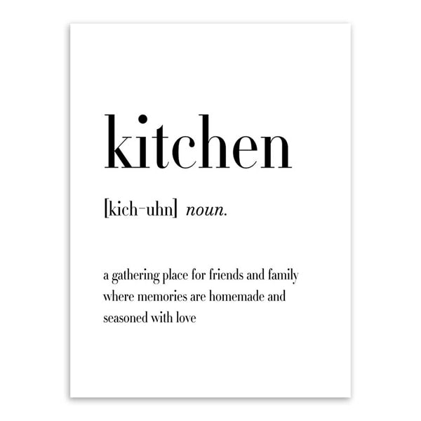Defining Kitchen