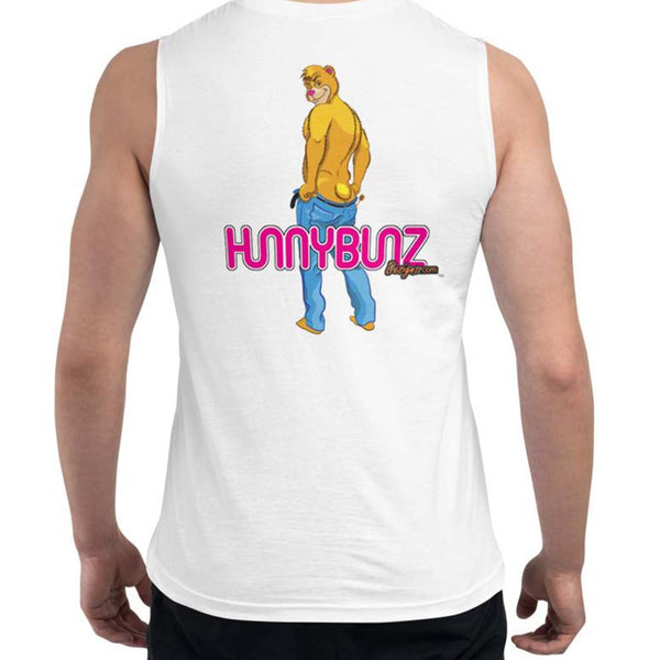 HUNNYBUNZ BEAR - MUSCLE SHIRT