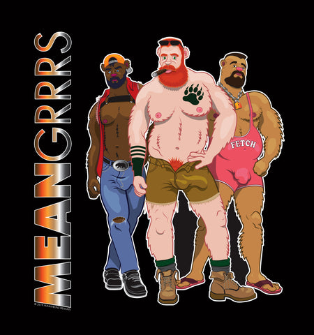 MEAN GRRRS - MUSCLE SHIRT