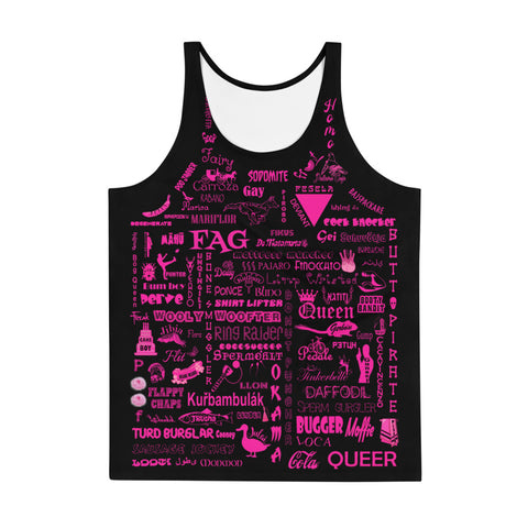 THE GAYEST SHIRT IN THE WORLD! TANK TOP