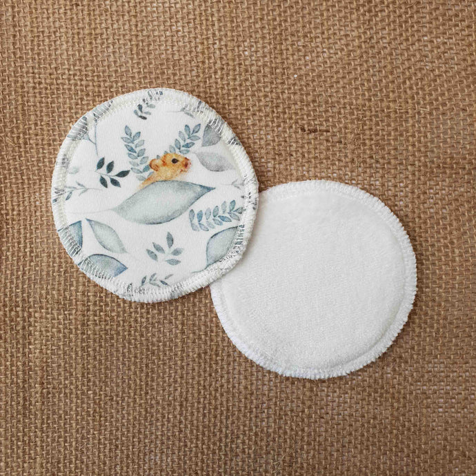 Dormouse Print Face Pads