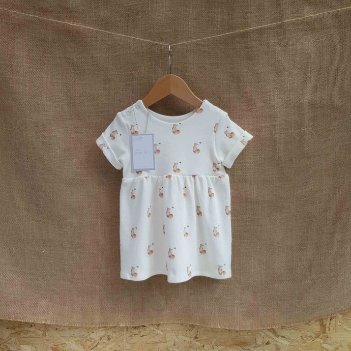 SALE Fox & Bee Dress - 6-9m