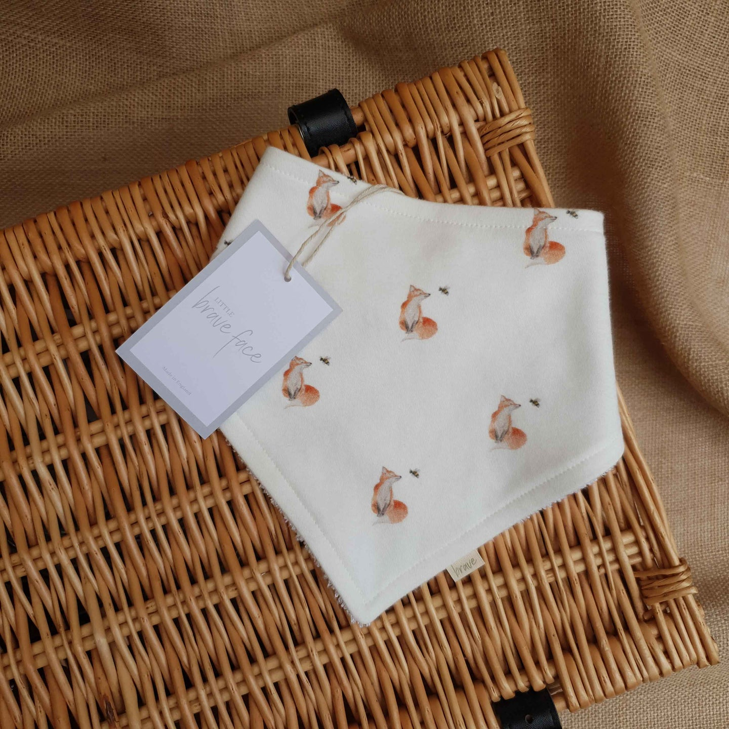 Fox & Bee Bib
