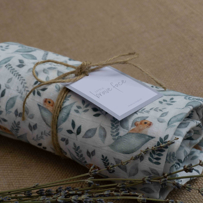 Dormouse Muslin Swaddle Blanket
