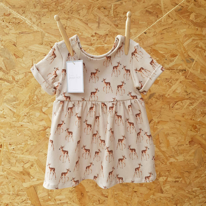SALE Little Fawn Dress - 6-9m