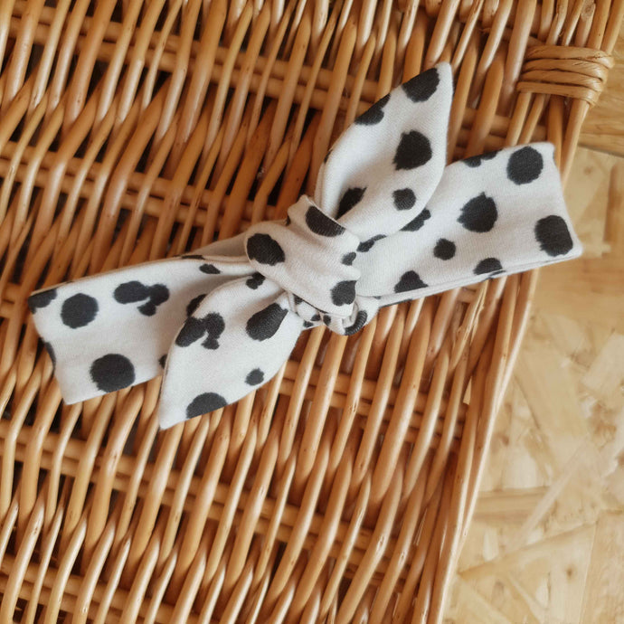 SALE Animal Print Headband - 12-18m (small mark)