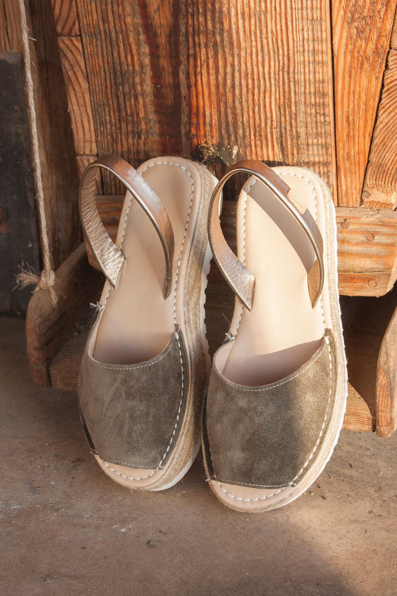 1980 BABY SILK KAKI - Noosa Footwear Co.