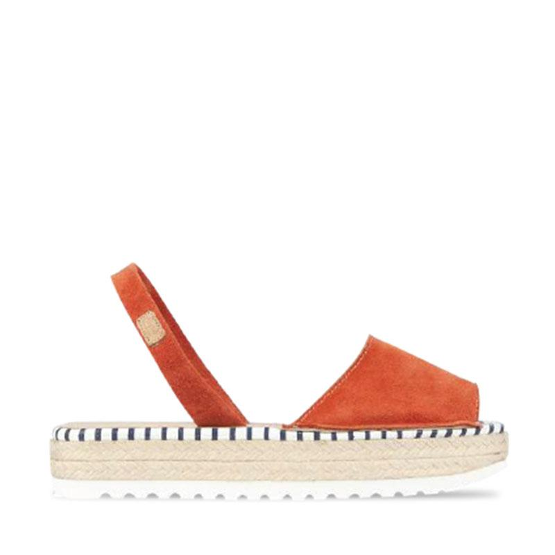 1981 A DOBLE YUTE NARANJA MARINERO - Noosa Footwear Co.