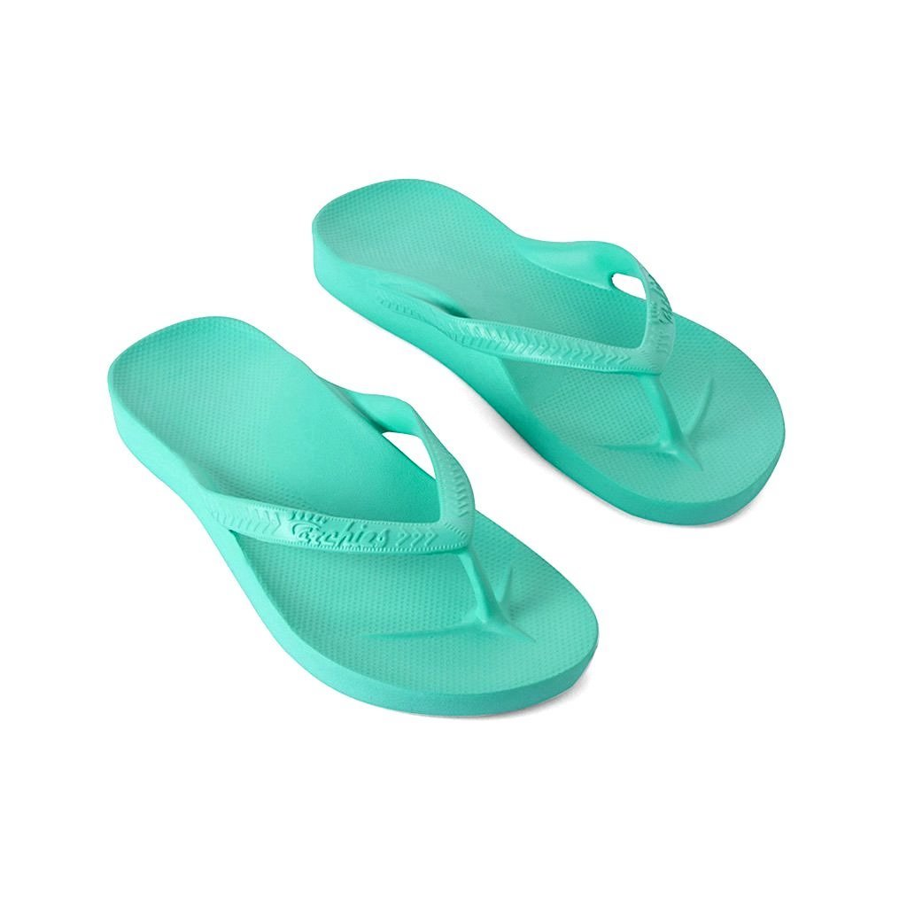 ARCHIES THONGS MINT - Noosa Footwear Co.