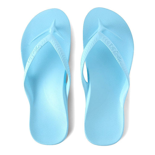 ARCHIES THONGS SKY BLUE