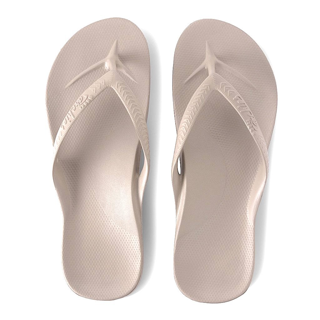 ARCHIES THONGS TAUPE
