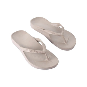 ARCHIES THONGS TAUPE - Noosa Footwear Co.
