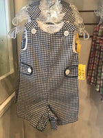 Black/white gingham jonjon