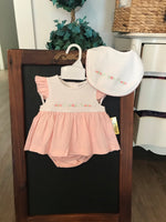 Knit diaper set (bib sold separately)