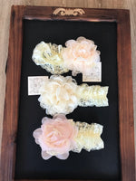Floral lace headbands