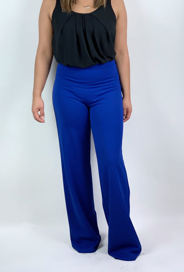 Not Today Wide Leg Palazzo Pants