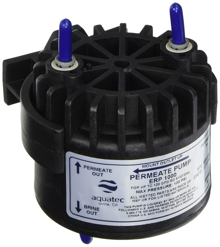 Aquatec ERP Permeate Pump + Mounting Clip - LiquaGen Water