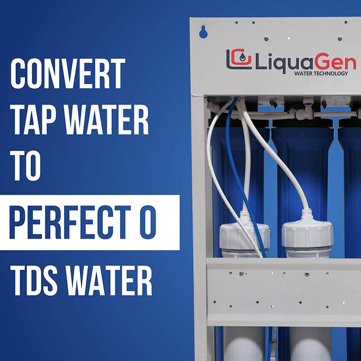 LiquaGen - 800 GPD Light Commercial Reverse Osmosis Drinking Water Filter System - LiquaGen Water