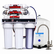 6- Stage Under Sink RO System + Anti-oxidant Mineral Restoration