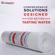 "2.5"" X 10"" Polypropylene Sediment Filter - LiquaGen Water"