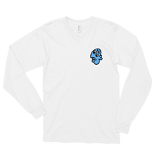 Load image into Gallery viewer, Long sleeve t-shirt - Picasso Fisk Blue