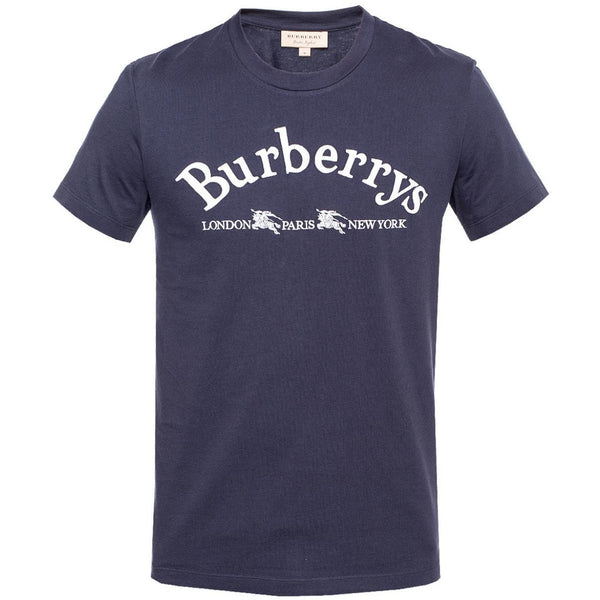 Burberry - Embroidered Tee (Navy)
