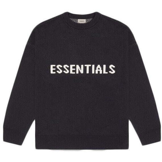 Essentials - Knit Sweater (Black)