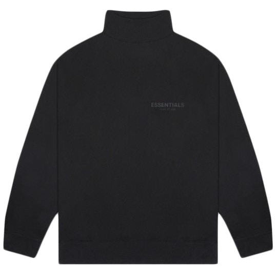 Essentials - Mockneck Sweater (Black)