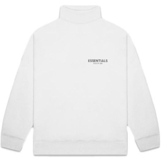 Essentials - Mockneck Sweatshirt (White)