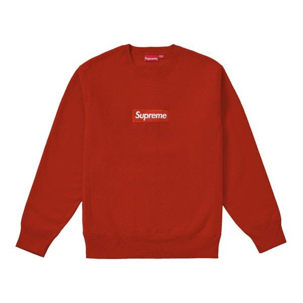 Supreme - Box Logo Crewneck (FW18) - Rust