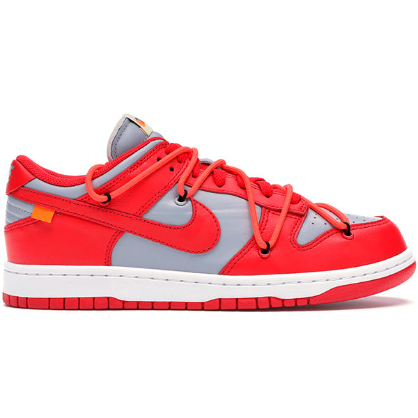 Nike x Off-White - Dunk Low (University Red)