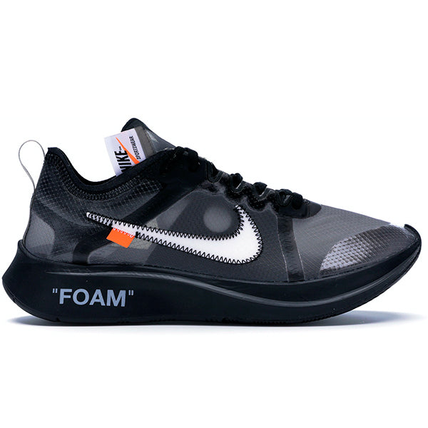Nike - Off-White Zoom Fly - Black Silver