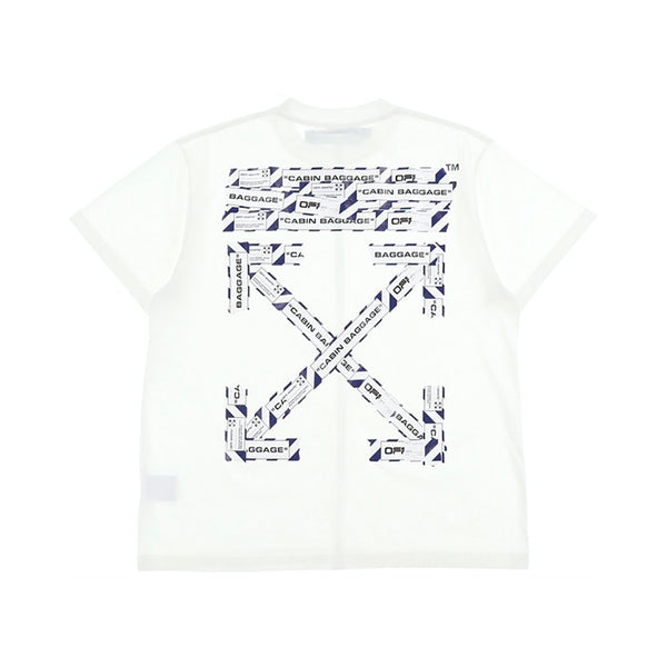 Off-White - Airport Tape T-Shirt (White)
