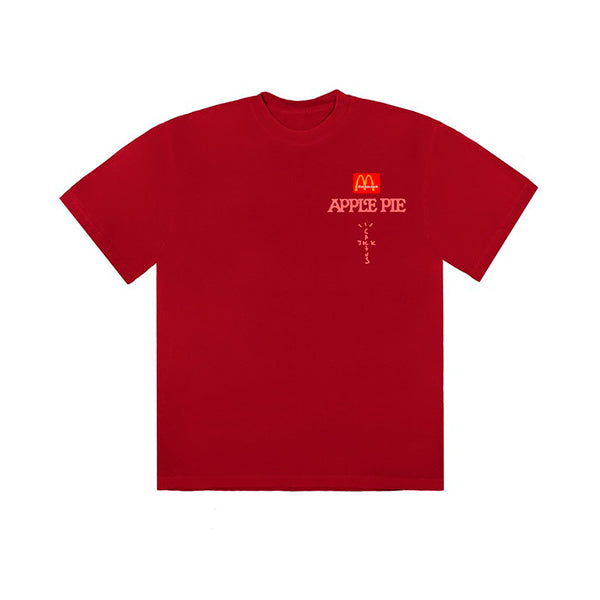 Travis Scott x McDonald's - Apple Pie T-Shirt (Red)