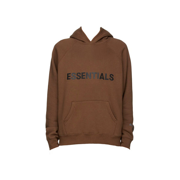 Essentials - Silicon Hoodie (Brown)