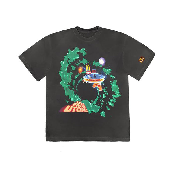 Travis Scott - Fly Thru Tee (Washed Black)