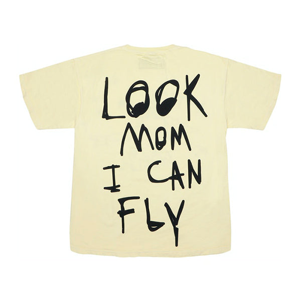 Astroworld - Look Mom I Can Fly Tee (Yellow)