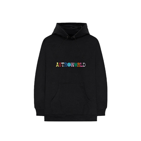 Astroworld - Logo Hoodies (Black)