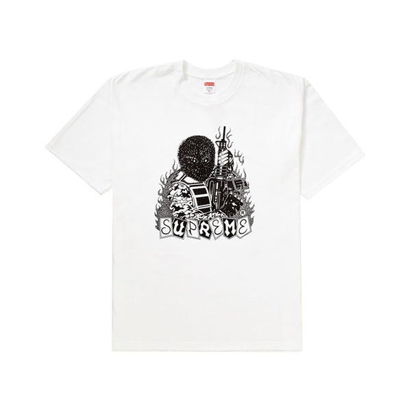 Supreme - mercenary Tee (White)