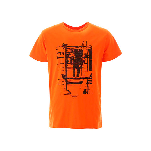 Off-White - Scaffolding T-Shirt (Orange)