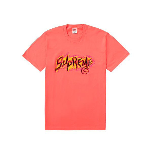 Supreme - Scratch Tee (Coral)